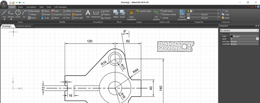 BabaCAD | Professional CAD software – R12 to R2019  DWG compatible