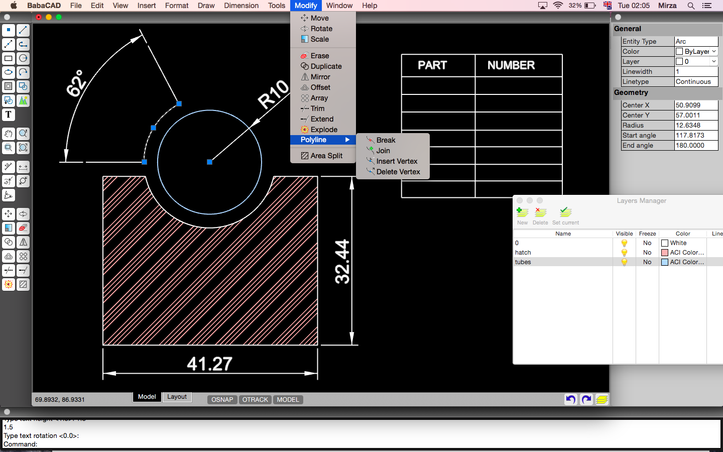 Babacad free cad software for mac os for Online cad drawing software