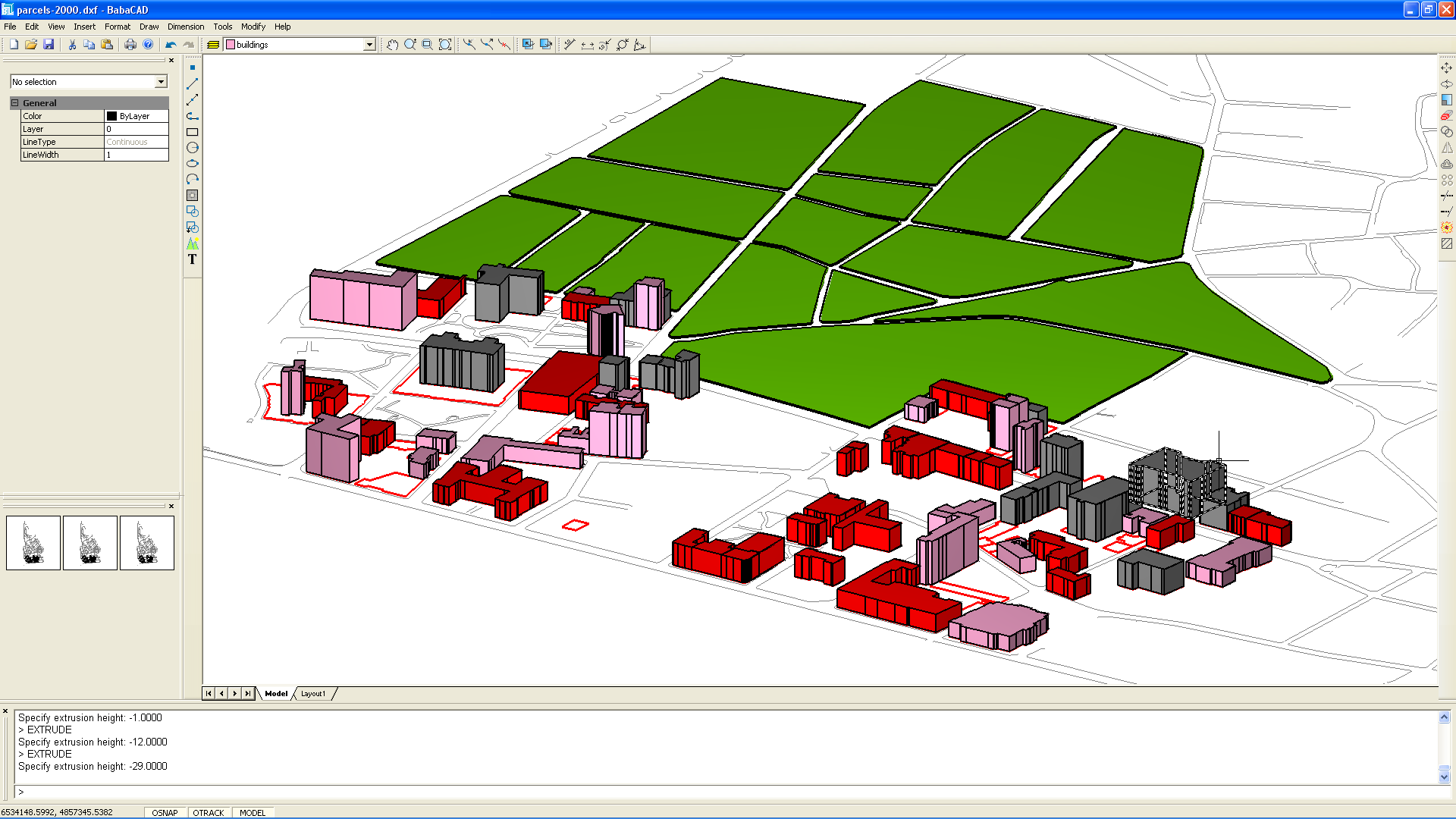 GIS 3D Buildings and Parcels Part 1
