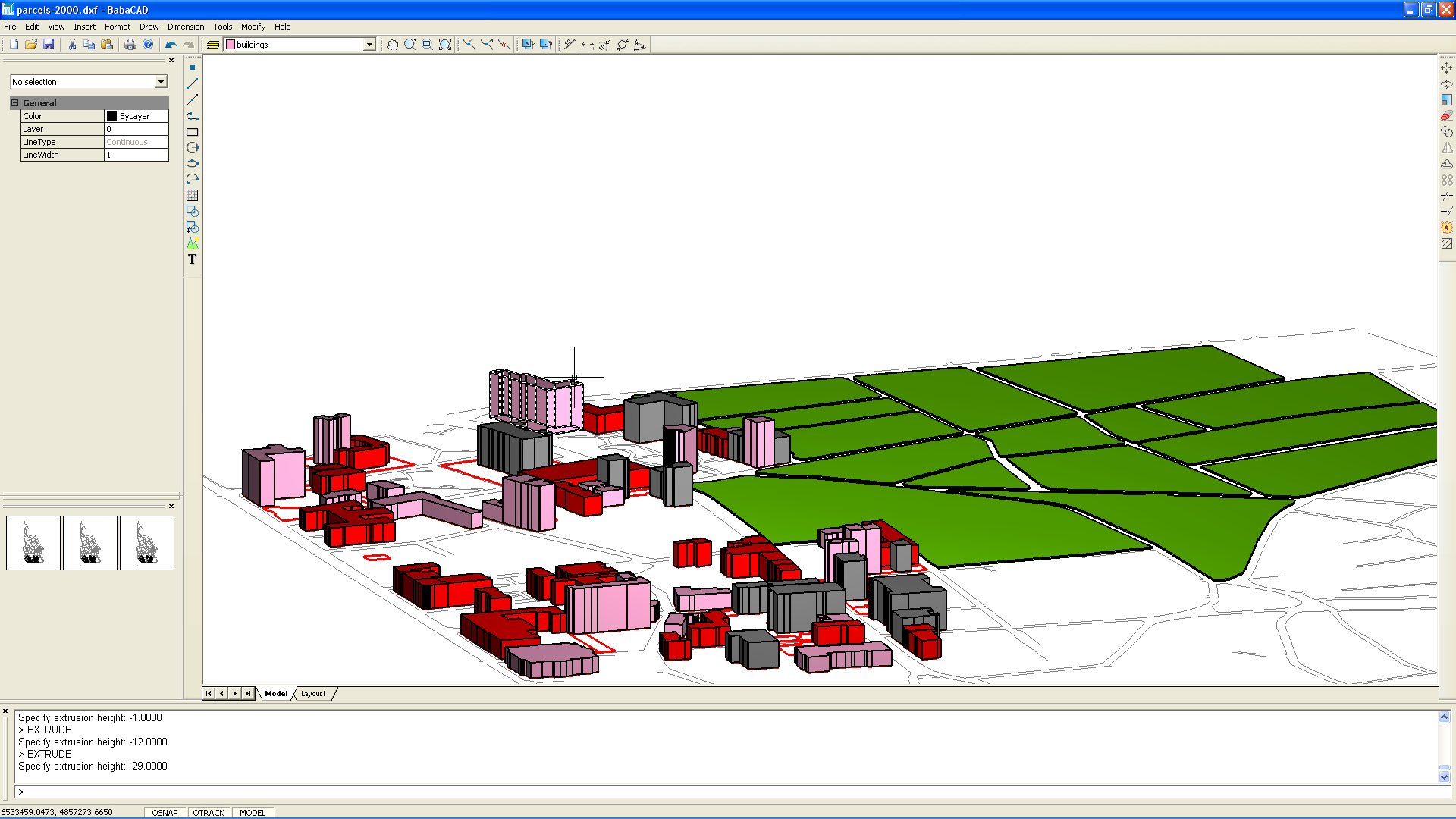 GIS 3D Buildings and Parcels Part 2