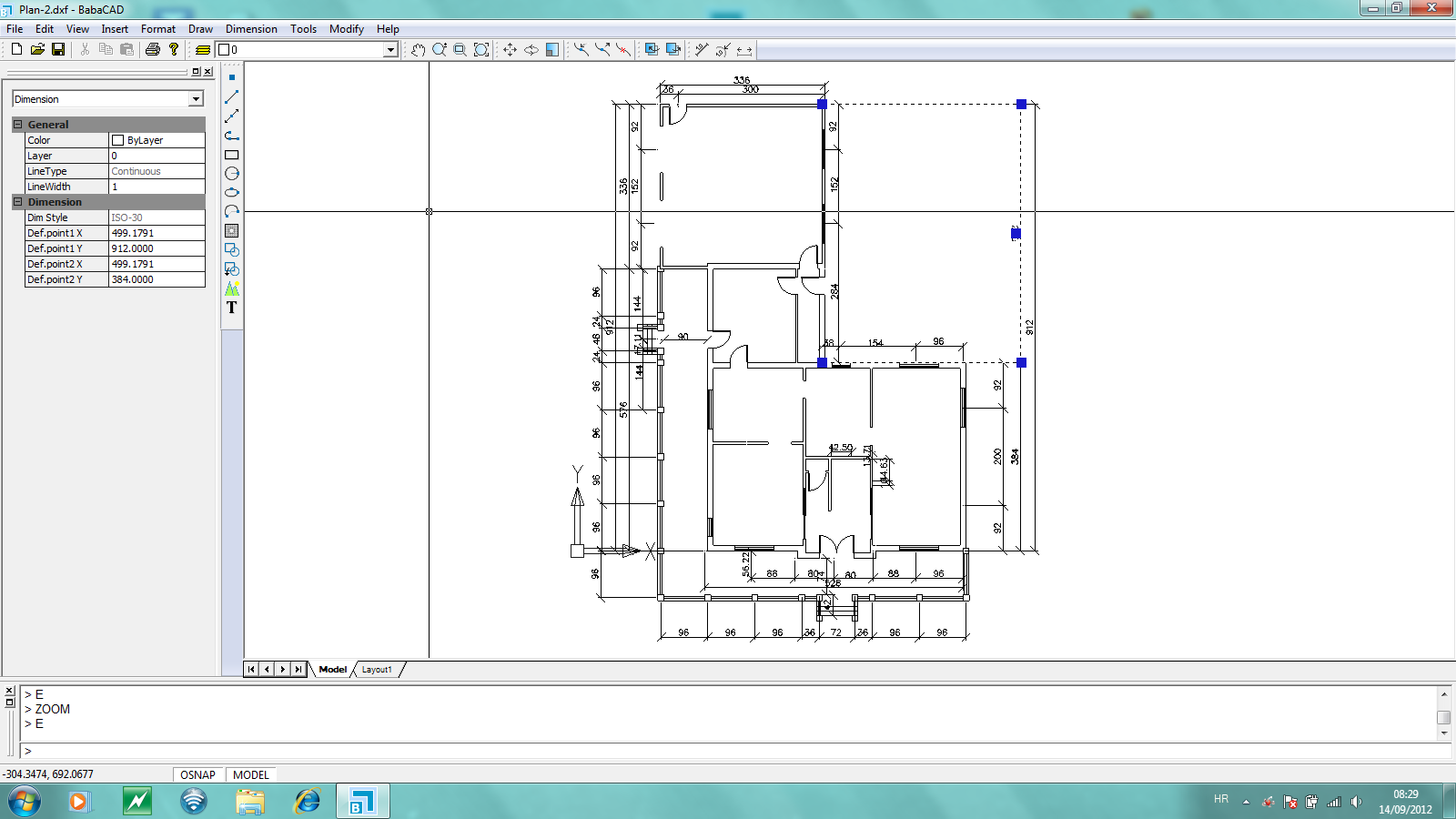 Babacad kostenlose cad software Home drafting software free